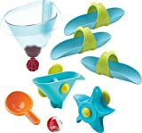 HABA 302823 Kugelbahn Badespaß – Wassertrichter, Kleinkindspielzeug