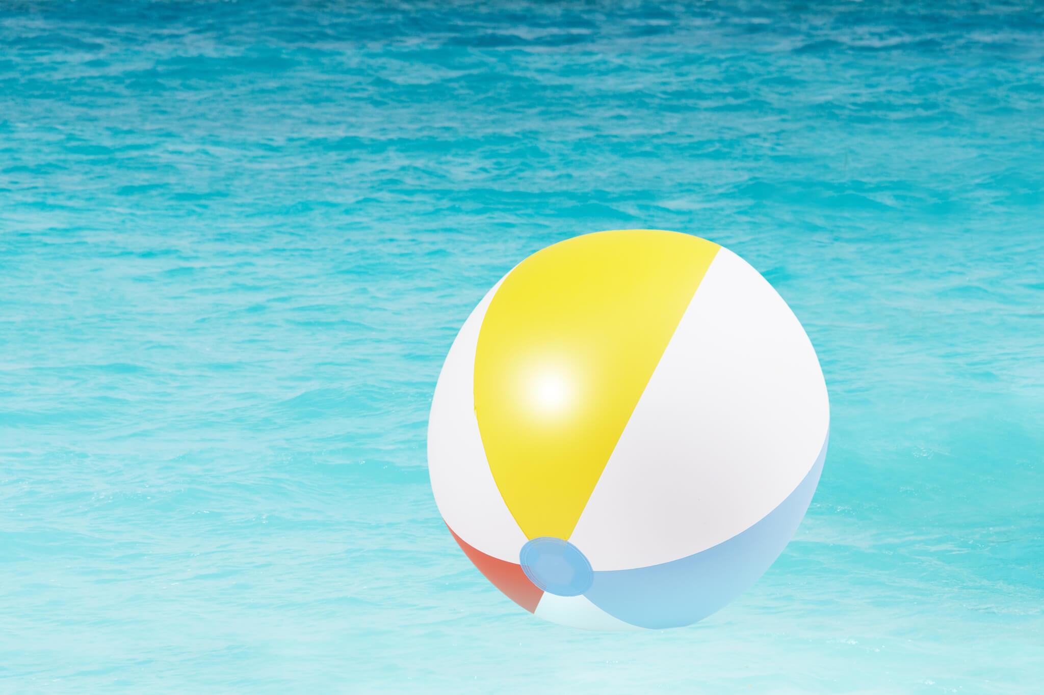 Wasserball im Wasser